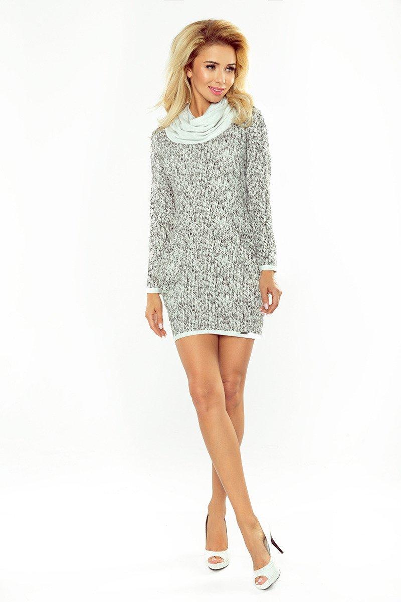 2df67a59b5b1b7 ... Florida Golf - sukienka z dużymi kieszeniami - wzór DROBNY SWETEREK ...