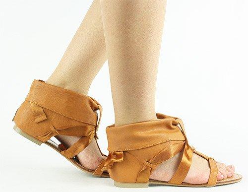 Połączenie Sandałów i Klapek Efektowny STYL